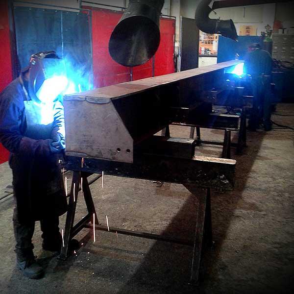 attrezzature carpenteria metallica