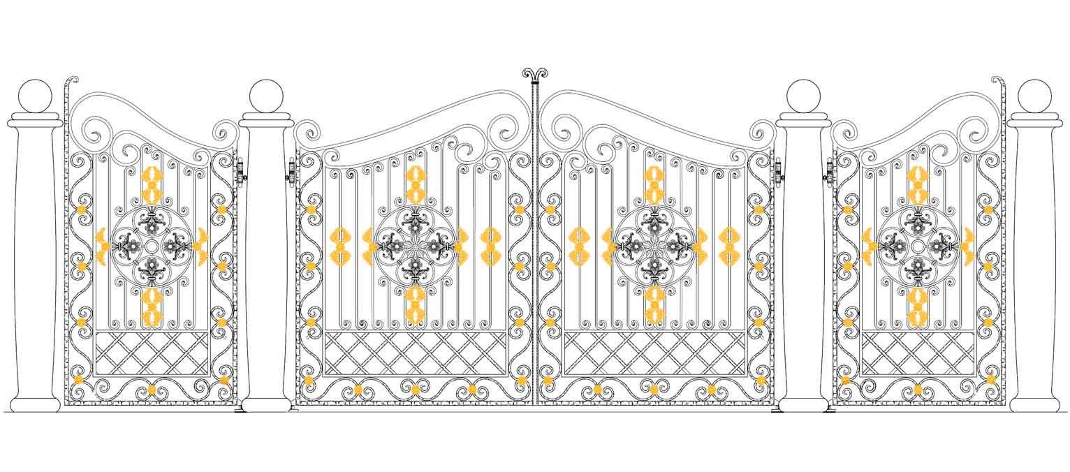 disegno cancello chi siamo